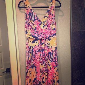 Lilly Pulitzer Sloane midi dress size small